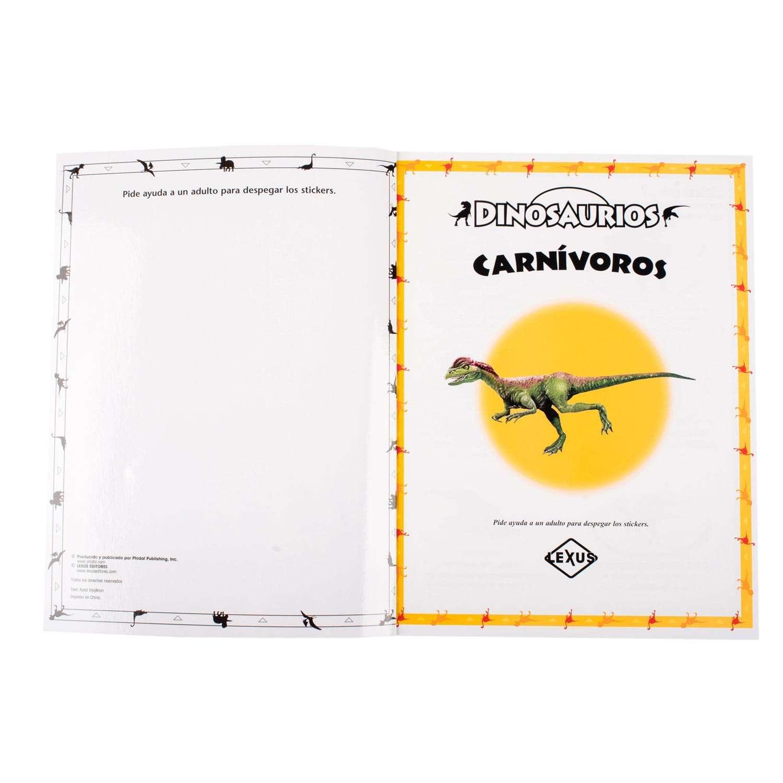 Dinosaurios Libro Con Super Stickers Lexus Editores Peru El paleontólogo steve brusatte repasa en un libro lo que se conoce sobre el auge y la caída de los dinosaurios y recuerda a los científicos que buscaron ese conocimiento. dinosaurios libro con super stickers